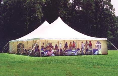 High-Peak Slope Tents are available in 20 and 30 foot widths. & Home City Tent u0026 Awning Springfield Ohio